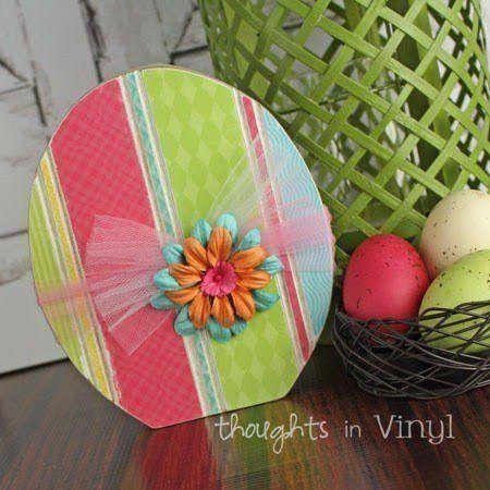 Wooden Easter Egg