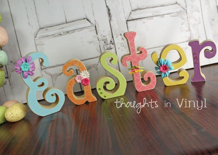 Easter Letters