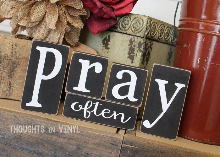 Pray Often Blocks