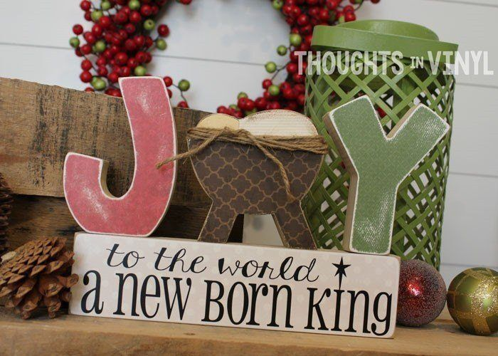 Joy To The World Letters