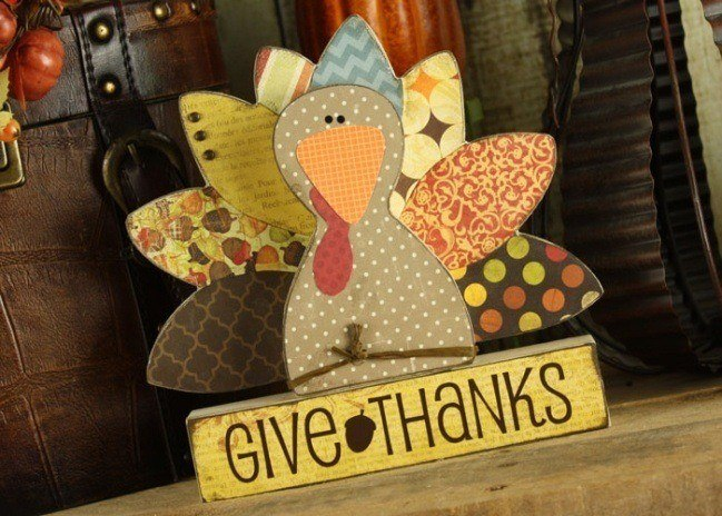 Thanksgiving Turkey wood crafts