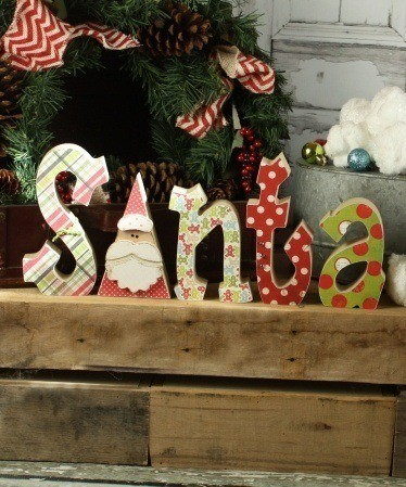 Interchangeable Home Letters Rudolph