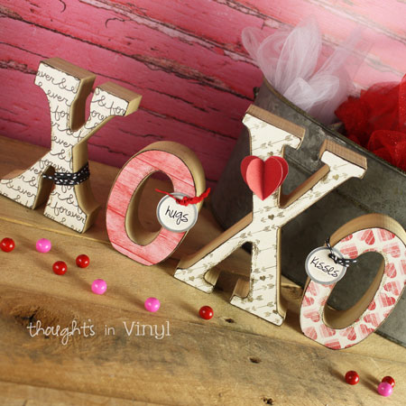 Valentines Day Wood Crafts Cute And Affordable Thoughts In Vinyl