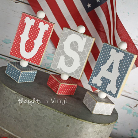 Fathers Day and Fourth of July Crafts