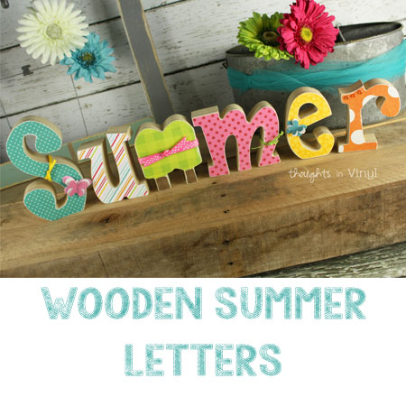 Summer Wood Letters