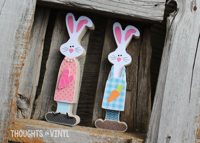 Wooden Bunny Craft