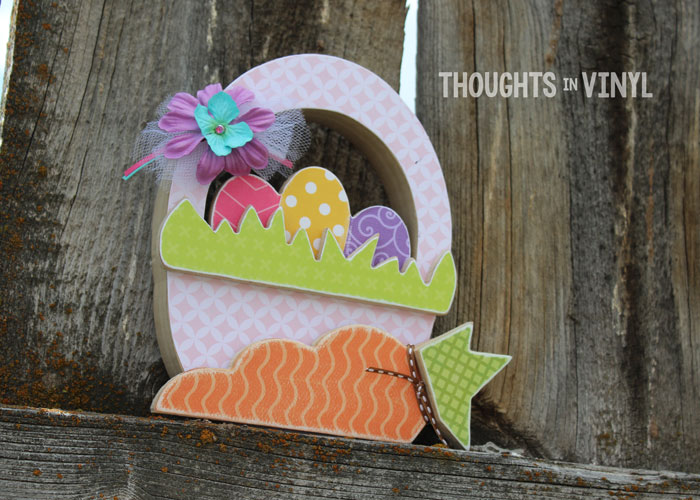 Wooden Easter Basket Craft