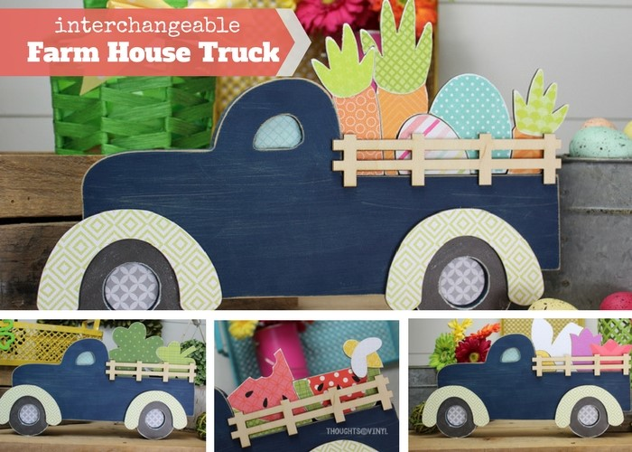 Interchangeable Farm House Truck