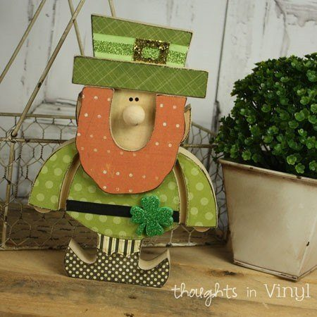 Wooden Saint Patrick Day Crafts