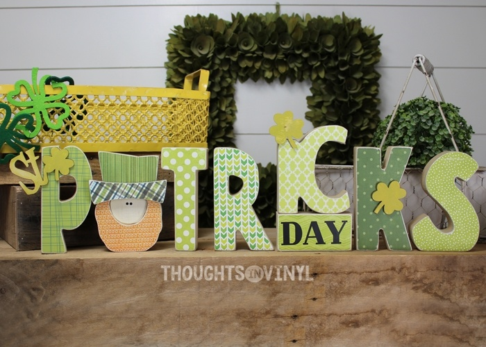 ck859 St. Patrick's Day Letters