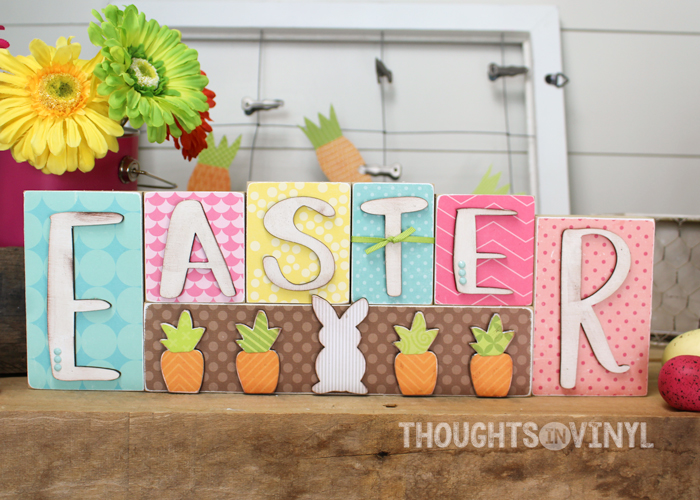 More Wooden Easter Crafts