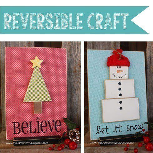 Reversible Believe Let It Snow