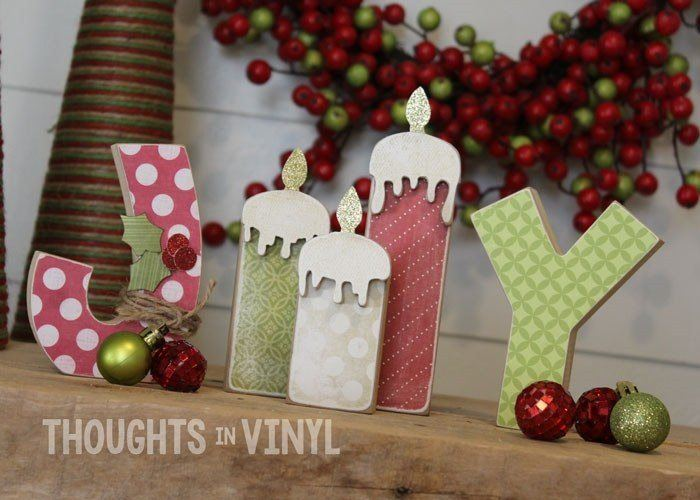 wooden letters craft ideas letters with candles 5774