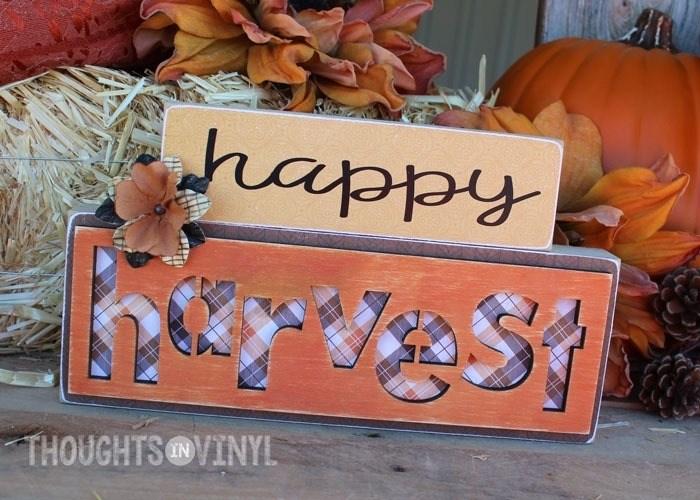Happy Harvest Blocks