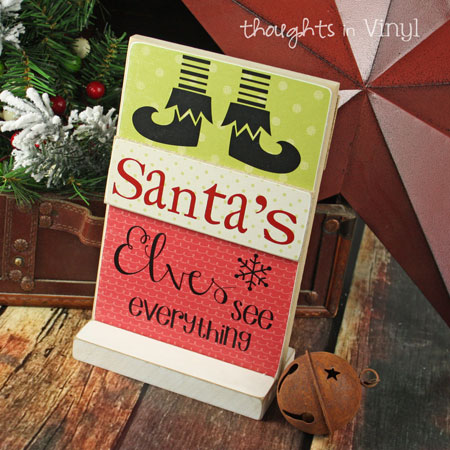 Christmas Crafts Thoughts In Vinyl