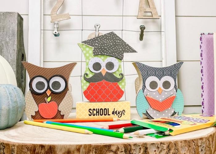Wooden Owl Sets