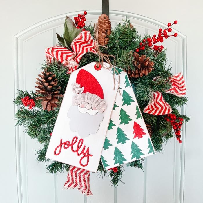 Santa Door Tags